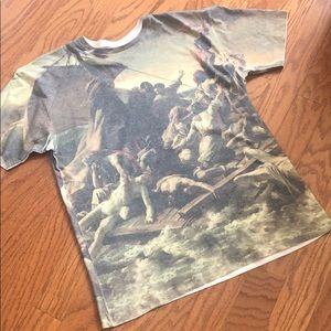 Men's Roman style t-shirt by JEM extra large